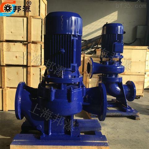 GW無堵塞管道污水泵 管道排污泵 立式管道泵