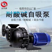 耐酸碱化工自吸泵 广东台风卧式自吸排污泵