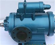 三螺桿泵內的回轉部件慣性力較低轉速高