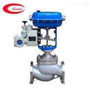 不銹鋼氣動溫度調節閥,氣動單座控制閥