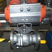 厂家直销 Q641F DN65 微型气动调节球阀