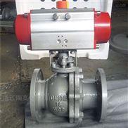 武汉 Q641F-16C DN100  国标气动浮动球阀