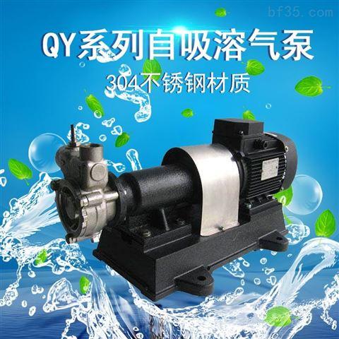 托架式不銹鋼自吸溶氣泵