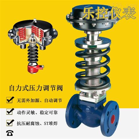 ZZYP-16B自力式大弹簧蒸汽减压阀