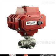 VT2DEF33AF-德国进口电动三通螺纹球阀,不锈钢材质