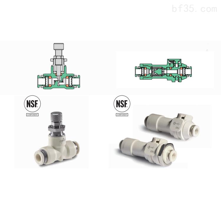 AVS食品級材質耐高溫高壓電磁閥接頭