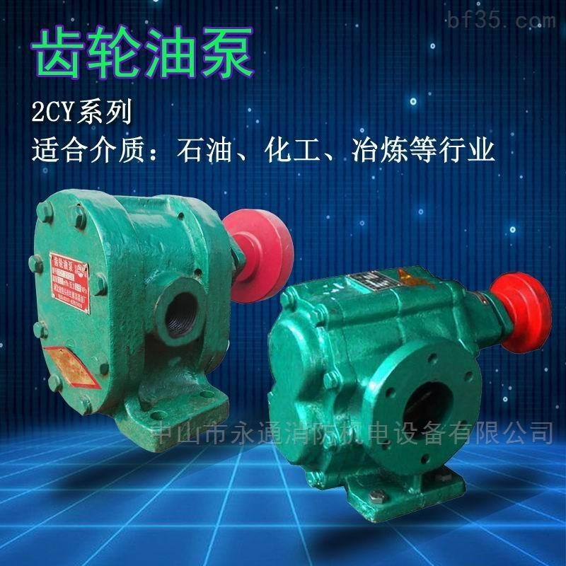 2CY系列齒輪油泵導熱油泵