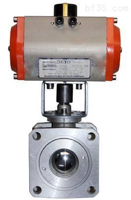 氣-動鋁合金球閥