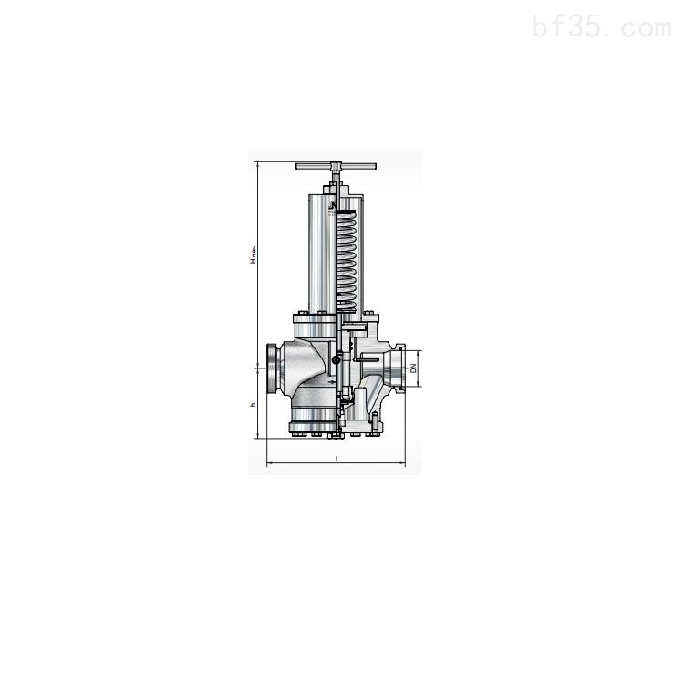 阀门Niezgodka safety valve GmbH SKS-GA型