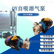 三相鱼塘泵自吸溶气泵循环供排消毒输水泵